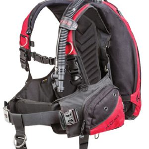 Scuba Diving Hollis HD200 BC/BCD with Weight Integration.